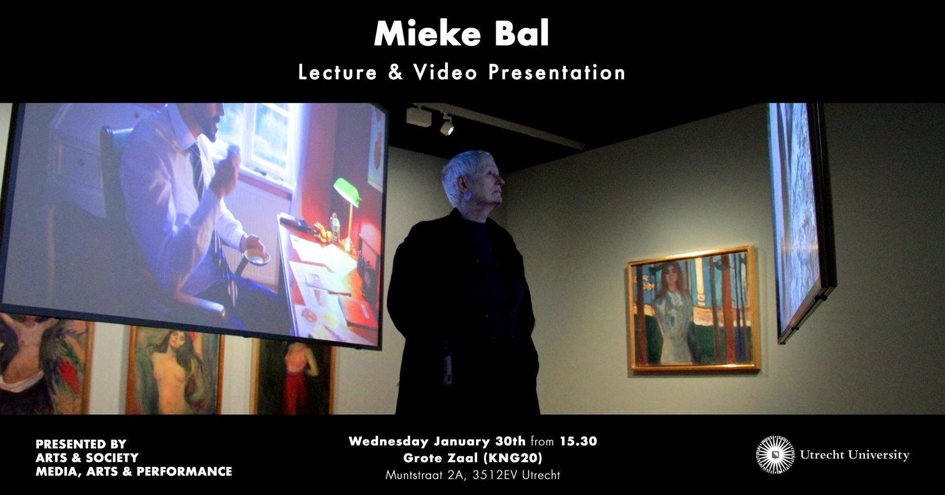Mieke Bal - Lecture & Video Presentation