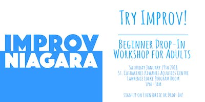 Try Improv! Drop-in Workshop for Adults