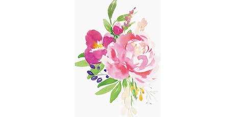 Watercolor Flowers and Plants tickets