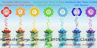 POP UP Namaste Yoga @ Saratoga