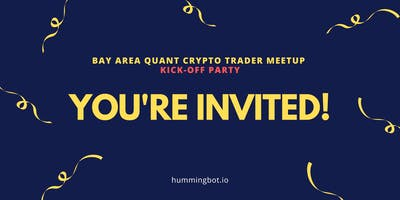 Bay Area Quant Crypto Trader Kick-off Party