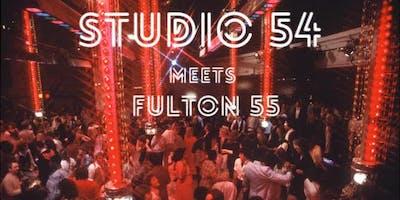 Studio 54 meets Fulton 55      Arne Nixon Center Disco Fundraiser