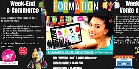 BOUTIQUE INTERNET / FORMATION e-COMMERCE tickets