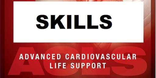 AHA ACLS Skills Session November 4, 2019 from 3 PM to 5 PM at Saving American Hearts, Inc. 6165 Lehman Drive Suite 202 Colorado Springs, Colorado 80918.