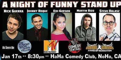 A  NIGHT OF FUNNY STAND UP