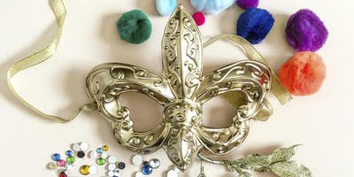 Mardi Gras Mask Workshop