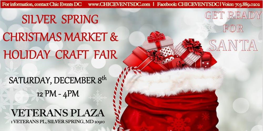 Christmas Bazaar Near Me.Silver Spring Christmas Market And Holiday Craft Fair