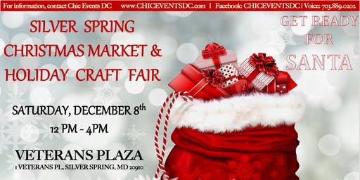 Silver Spring Christmas Market and Holiday Craft Fair