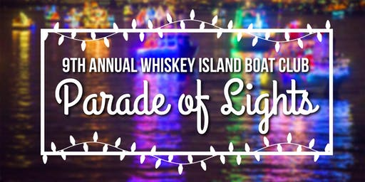 Whiskey Island Boat Club  Parade of Lights