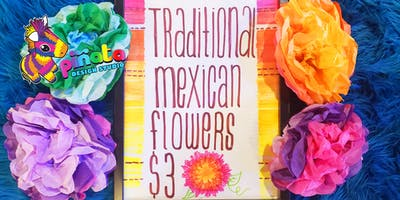 Traditional Mexican Tissue Paper Flower Workshop