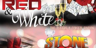 Valentine Red & White-Blazers & Corsets