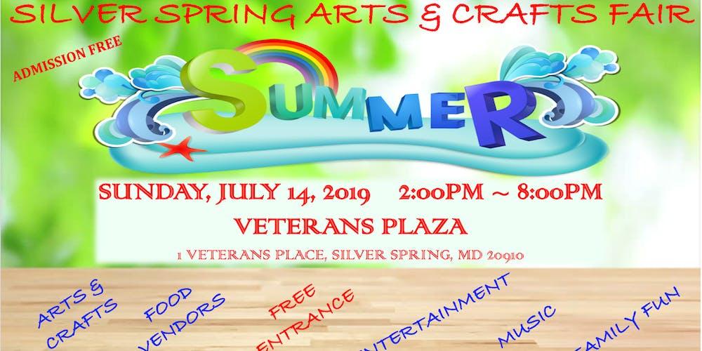 Silver Spring Arts Crafts Summer Fair Tickets Sun Jul 14 2019