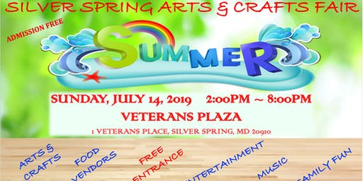 Silver Spring Arts & Crafts Summer Fair