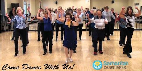 Dance the Day Away! A Seniors only recreational dance class. tickets