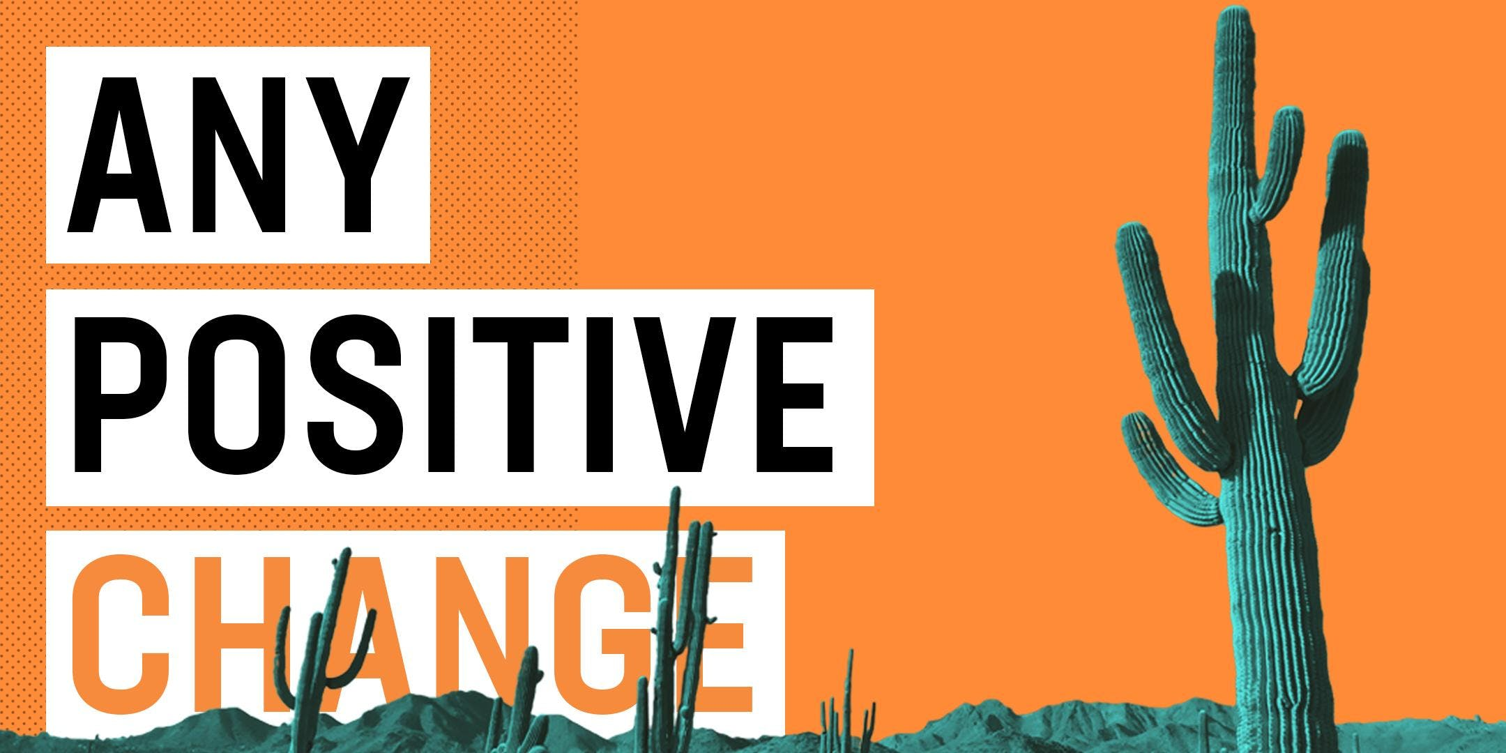 Any Positive Change - AZ Harm Reduction Conference 2019