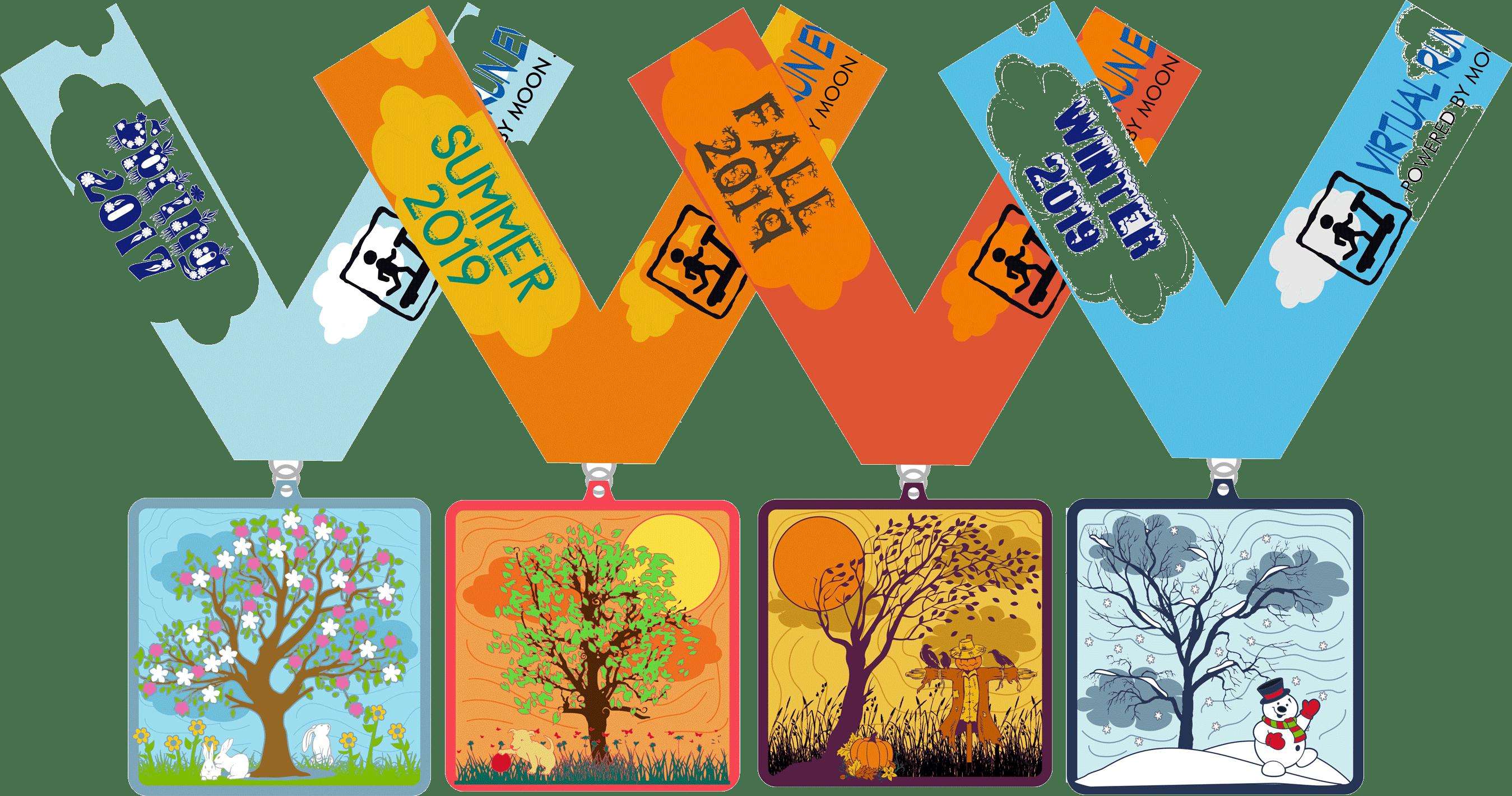 2019 Four Seasons, Four Miles - Spring, Summer, Autumn, Winter - Miami