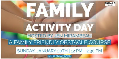 Family Activity Day @ Inhale