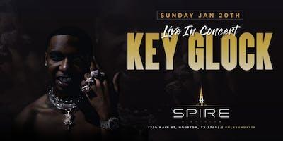 Key Glock / Sunday January 20th / Spire