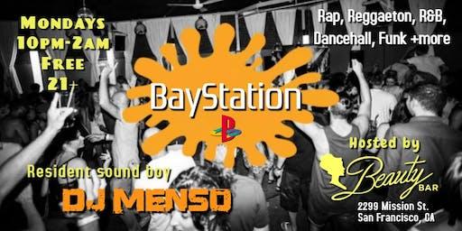 BayStation: Free Rap & Reggaeton Party Mondays @Beauty Bar