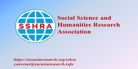 Istanbul – International Conference on Social Science & Humanities (ICSSH), 06-07 August 2019 tickets