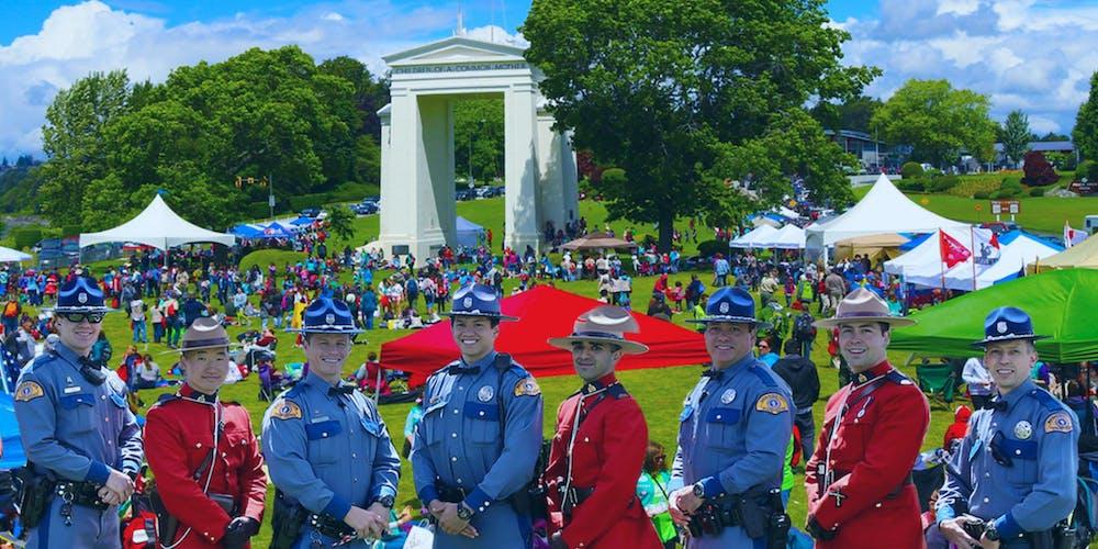 Hands Across the Border - Peace Arch Celebration Registration, Sun ...