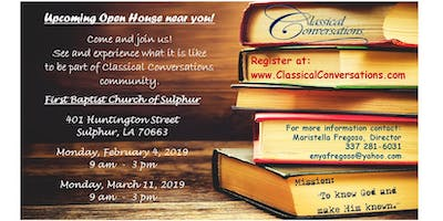 Classical Conversations of Sulphur Open House