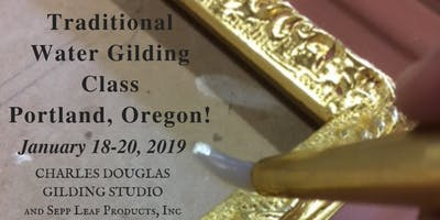 Traditional Water Gilding Class (Portland, OR)