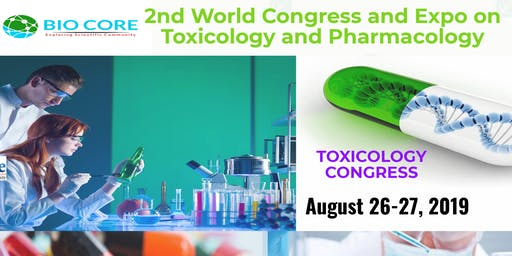 2nd World Congress and Expo on Toxicology and Pharmacology