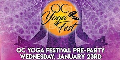 OC Yoga Festival Pre-Party