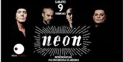 NEON ◆ Italian New Wave Legend ◆ live at Retronouveau