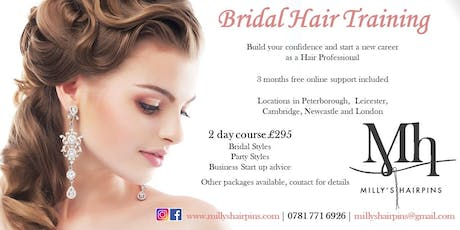 2 Day Bridal Hair Training £295 tickets