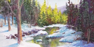 Basic Landscape Techniques: Water in Watercolor with Kris Woodward