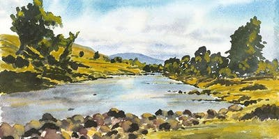 Basic Landscape Techniques in Watercolor with Kris Woodward