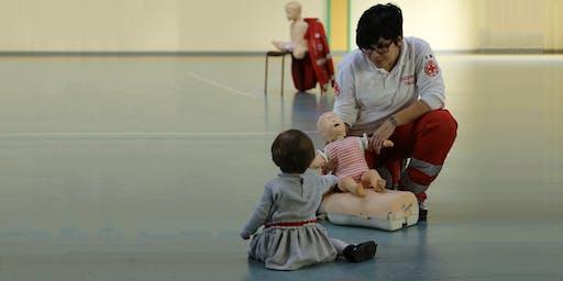 Lezione di Manovre Salvavita Pediatriche