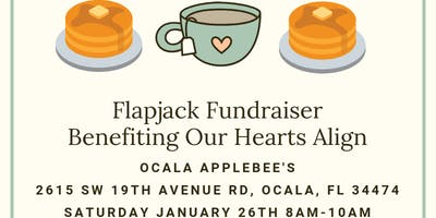 Flapjack Fundraiser for Our Hearts Align