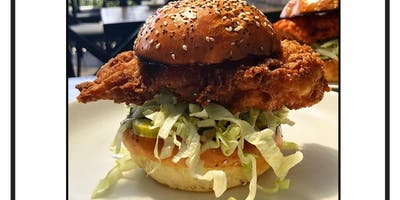 $9 Lunch Special! Some Like It HOT Chicken, Fridays at Pearl's Rooftop