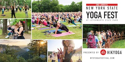 NYS Yoga Festival at Letchworth State Park
