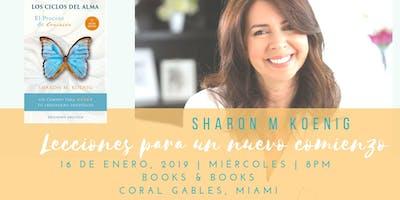 Lecciones para un nuevo comienzo, Sharon M Koenig en Books & Books