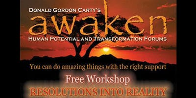 Resolutions into Reality Workshop - tips, tools & hands on experiential aids
