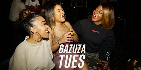 Late Night Happy Hour 5PM-10PM: Only at #GazuzaTuesdays tickets