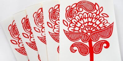 Block Print Handmade Cards with Ali Herrmann