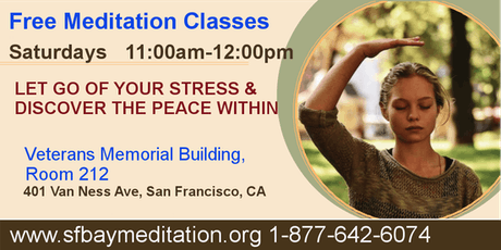Free Meditation Classes in San Francisco tickets