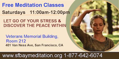 Free Meditation Classes in San Francisco tickets