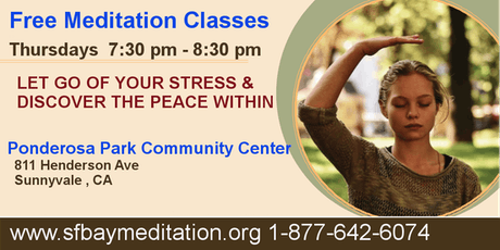Free Sahaja Yoga Meditation Classes in Sunnyvale  tickets