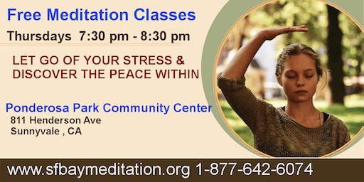 Free Sahaja Yoga Meditation Classes in Sunnyvale