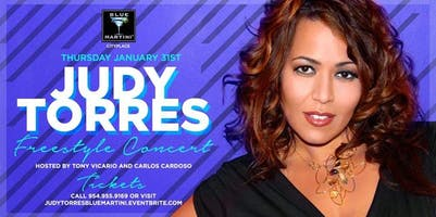 Freestyle Thursdays  Presents  Judy Torres Live!