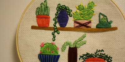 Crafts + Drafts: Modern Embroidery
