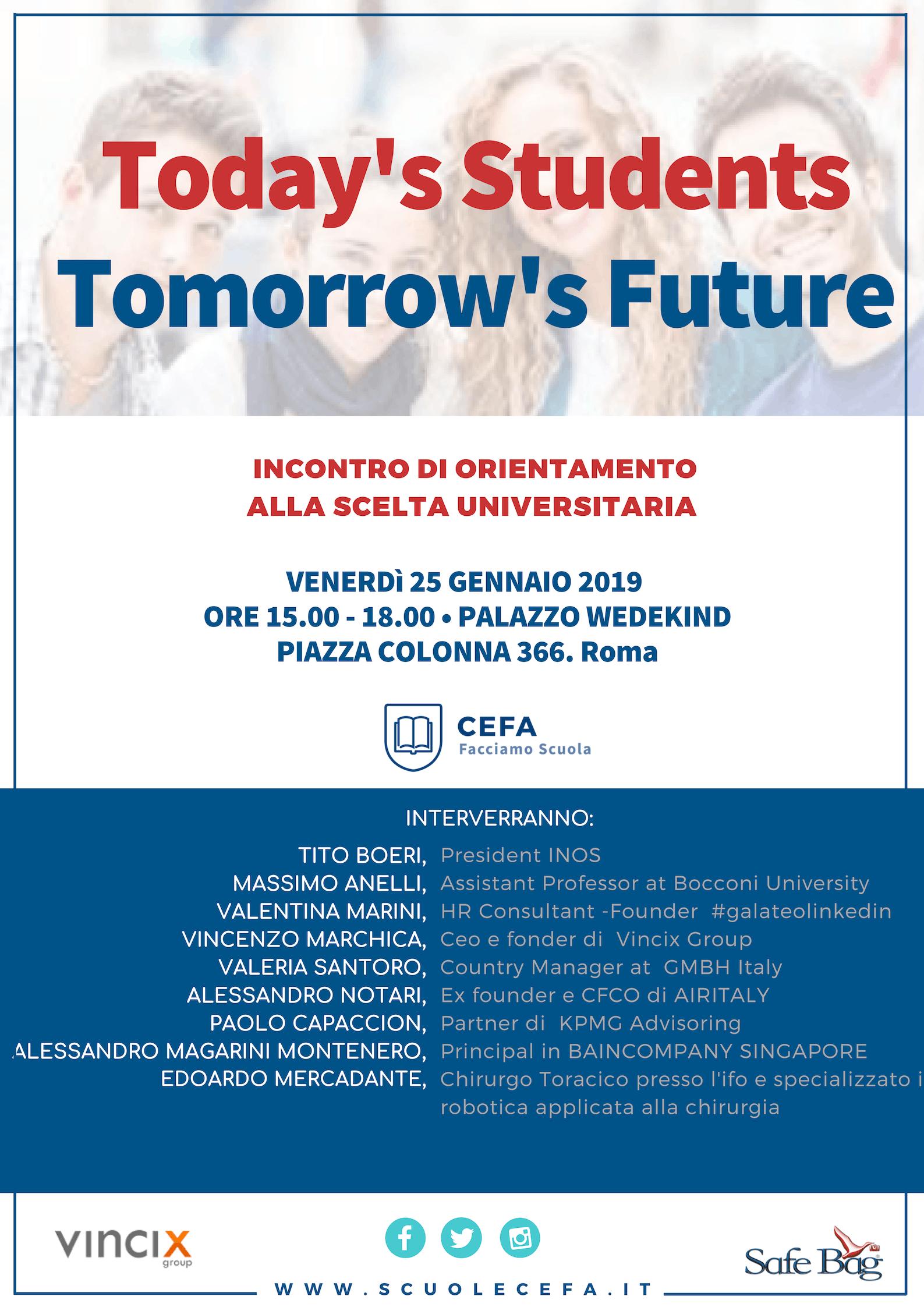 Today's Students Tomorrow's Future