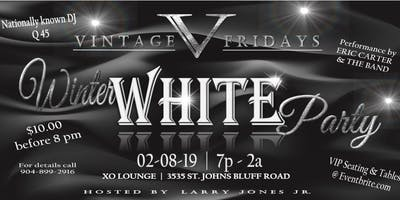 Vintage Fridays - Winter White Party