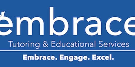 Embrace Tutoring: SAT Review Session (Math/ Wr/L/ Reading) - 10/27 tickets